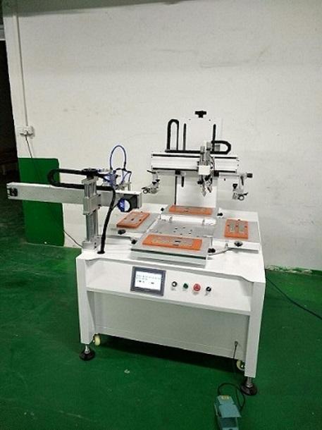 中山市玻璃镜片丝印机亚克力丝网印刷机 厂家直销