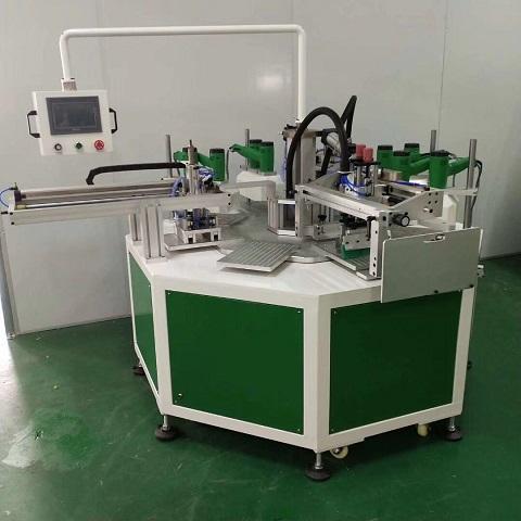亚克力镜片丝印机亚克力板丝网印刷机亚克力转盘丝印机