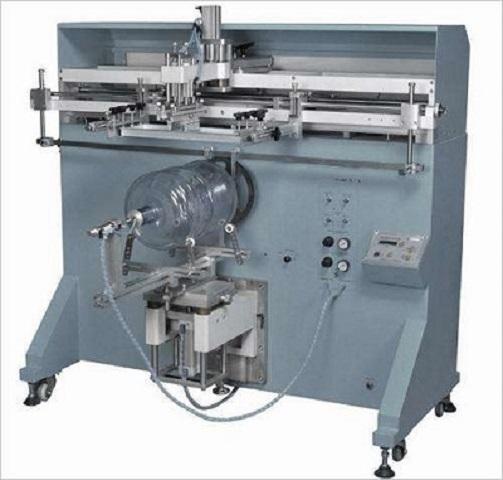 铁桶滚印机矿泉水桶丝印机包装桶丝网印刷机厂家