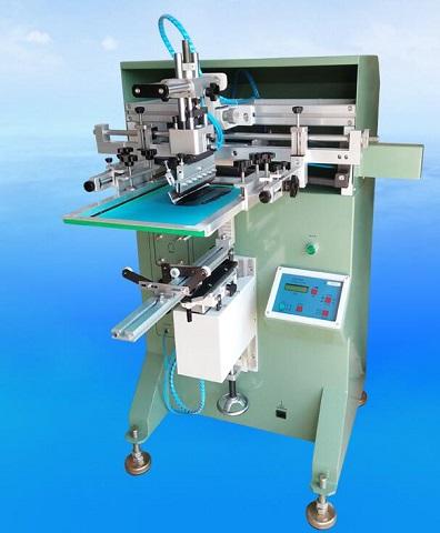 半自动丝印机电动伺服丝网印刷机平圆两用印刷机
