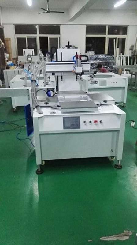 薄膜开关丝印机PCV胶片丝网印刷机薄膜按键印刷机