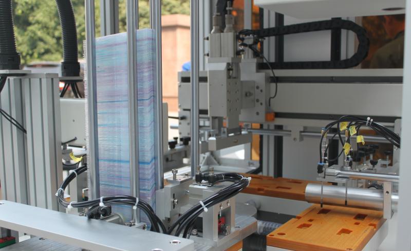 直尺丝印机学生直尺丝网印刷机套尺印刷机