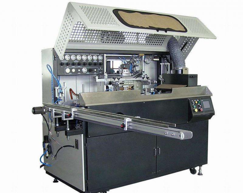 肇庆市丝印机厂家圆形曲面丝网印刷机全自动转盘移印机