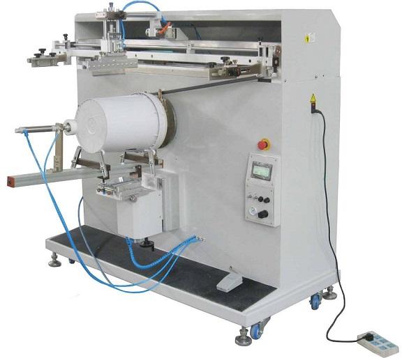石家庄市丝印机厂家河北省全自动移印机塑料板丝网印刷机