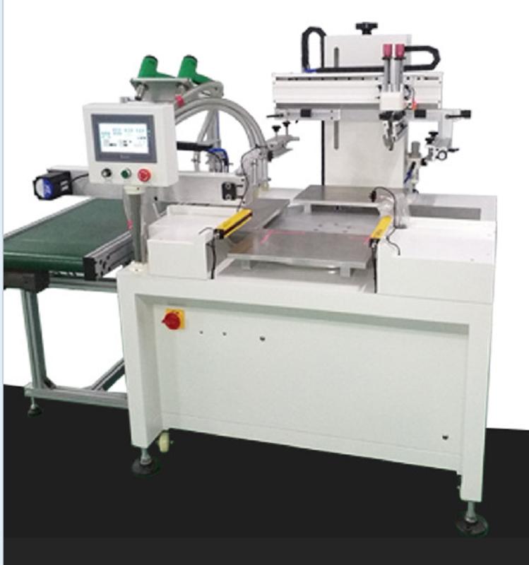 亚克力标牌丝印机机器铭牌网印机指示牌丝网印刷机