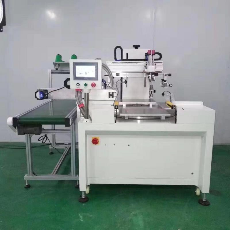 消防指示牌丝印机安全出口牌网印机不锈钢牌丝网印刷机