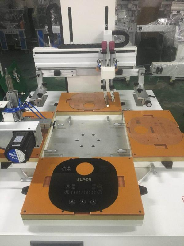 灯具玻璃丝印机空调面板网印机冰箱空调玻璃丝网印刷机