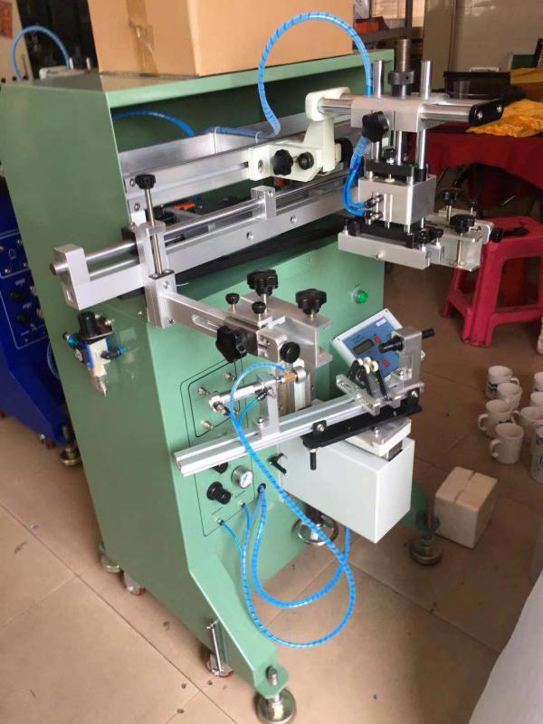 马克杯丝印机玻璃杯丝网印刷机陶瓷杯滚印机