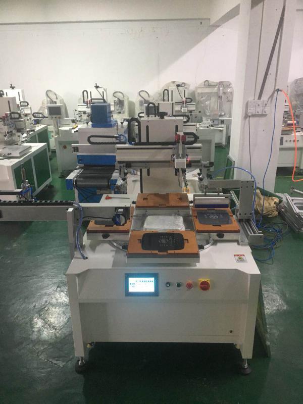 玻璃丝印机亚克力镜片丝印机触控开关玻璃丝网印刷机