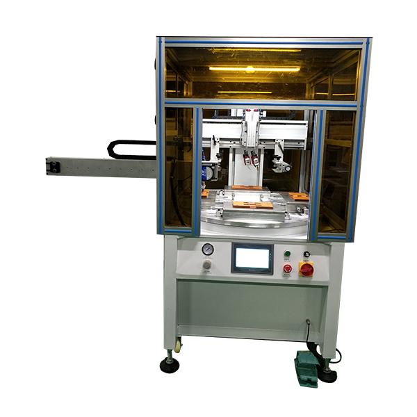 手机玻璃丝印机保护片网印机玻璃镜片盖板丝网印刷机