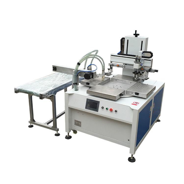 手机玻璃丝印机陶瓷盖板网印机手机电池丝网印刷机