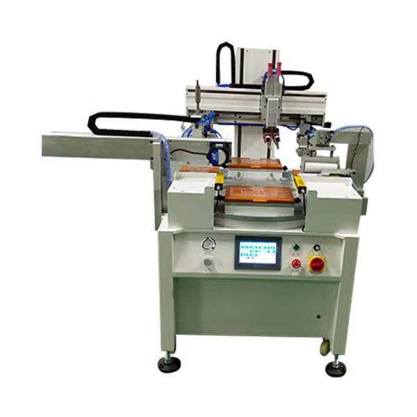 圆形曲面滚印机平面丝印机全自动转盘丝网印刷机