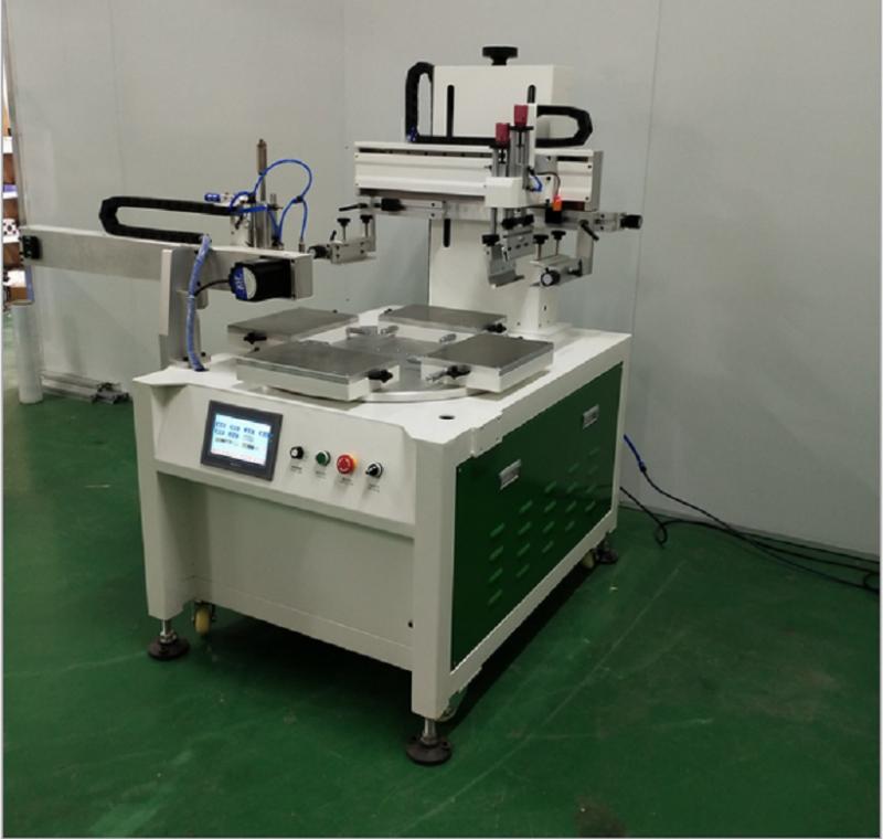 电器玻璃丝印机玻璃面板网印机玻璃镜片丝网印刷机