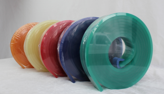 广东江门50*9软丝印刮胶 丝印刮刀具耐磨性和耐溶剂性胶条厂家批发
