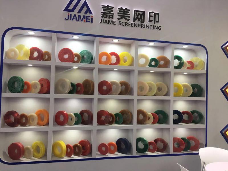 广东佛山75度80度进口原料超耐磨白色丝印刮胶 丝印刮刀厂家