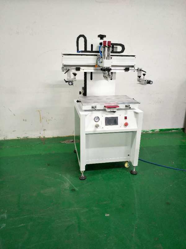 德州丝印机厂家铝板平面转盘丝网印刷机