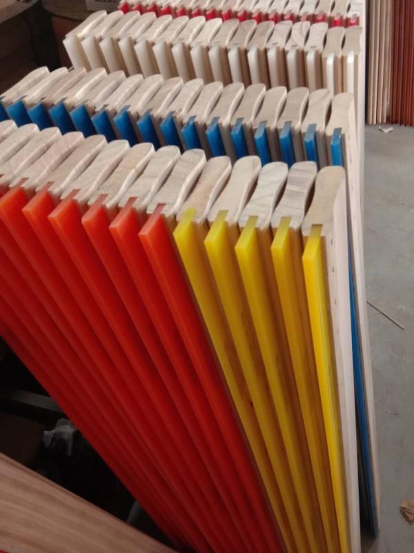 油性带木柄丝印刮胶65度70度耐磨刮刀价格