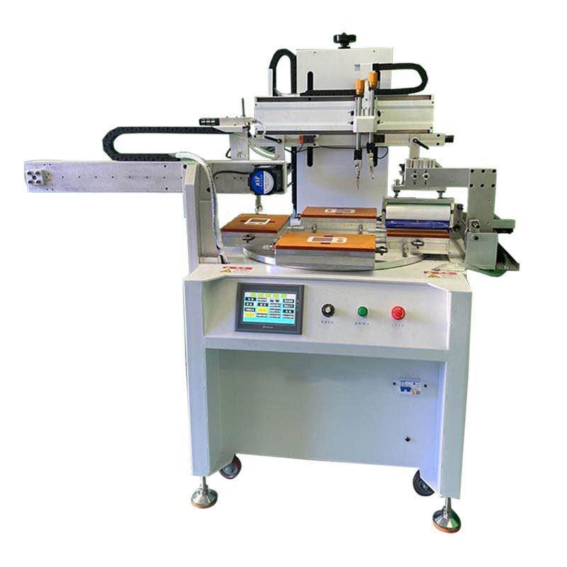 PVC镜片丝印机PVC面板丝网印刷机厂家